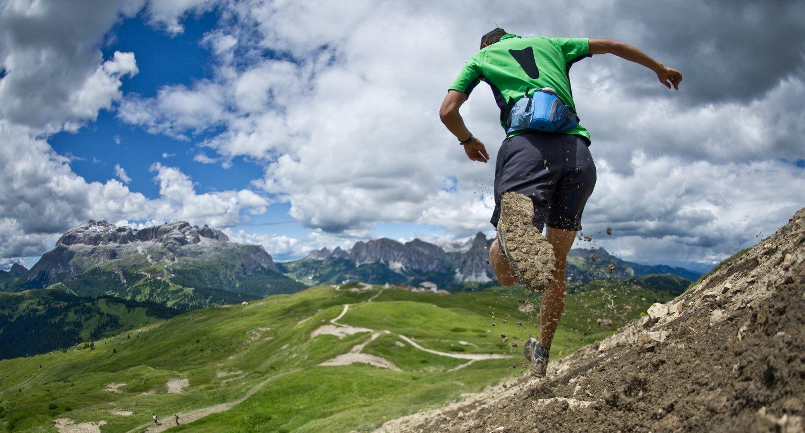 Hardlopen voetschimmel kalknagels