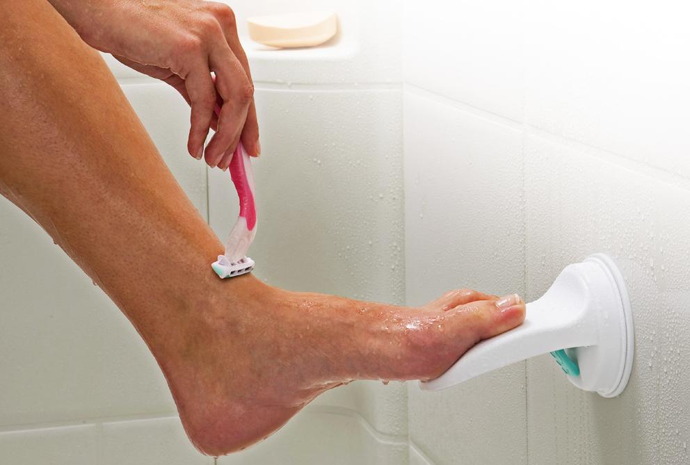 voeten en tenen scheren